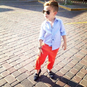 Мода для мальчиков Весна 2014