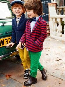 Модный образ для мальчика во французском стиле