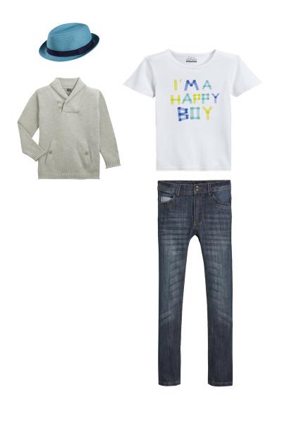 """Модный образ для мальчика """"English Style"""""""