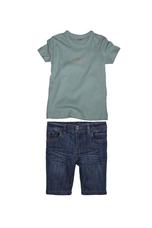 футболка-джинсовые-шорты-для-мальчика
